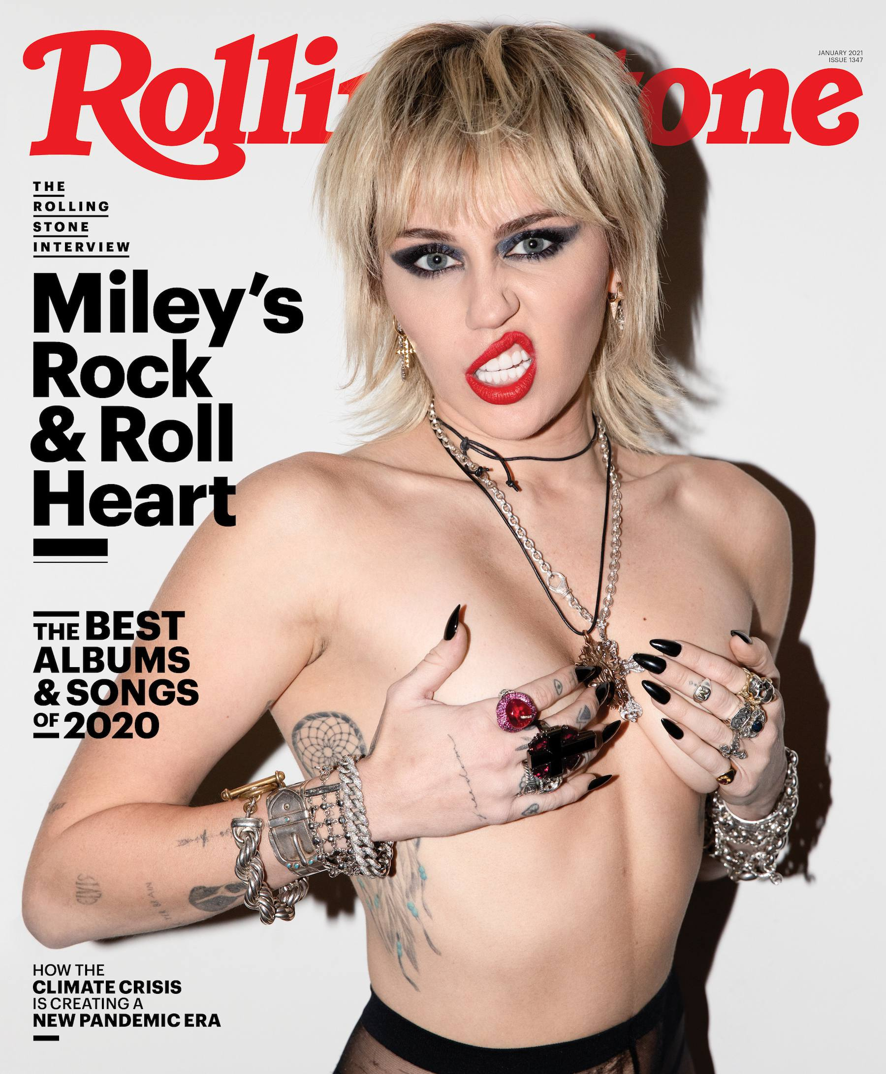 Miley Cyrus Topless Boobs