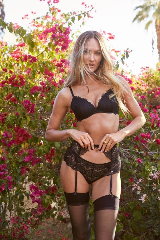 Candice Swanepoel Spectacular Body In Lingerie
