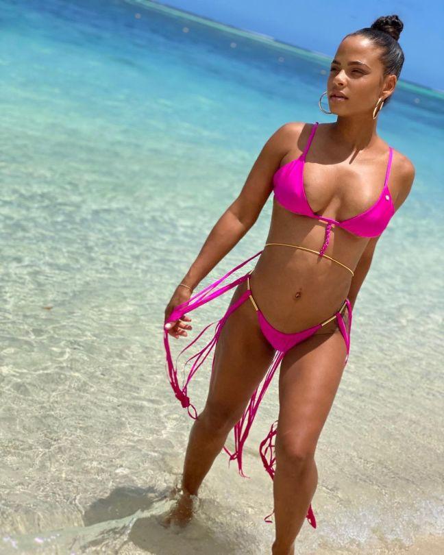 Christina Milian Wonderful Body In Bikini