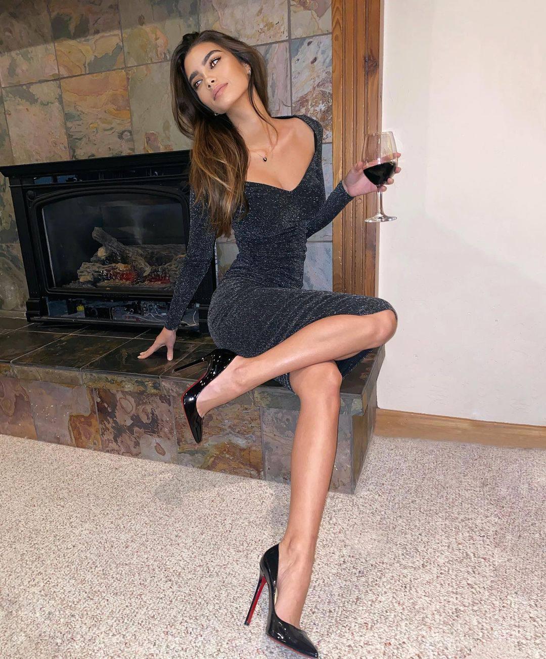 Cindy Mello Sexy Dress