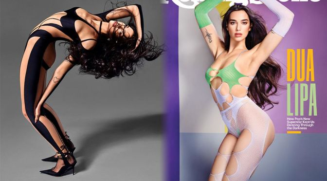 Dua Lipa – Gorgeous in a Stunning Photoshoot for Rolling Stone Magazine (February 2021)