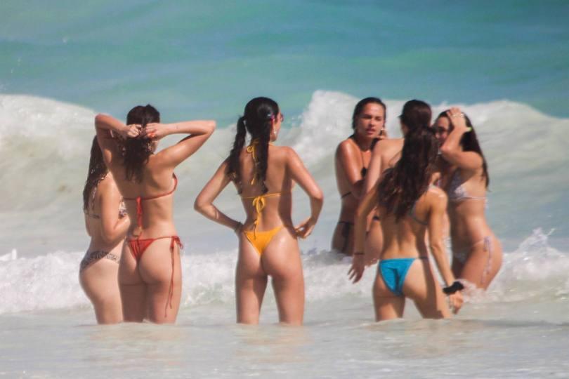 Dua Lipa Thong Bikini