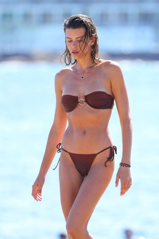 Georgia Fowler Sexy Tiny Bikini