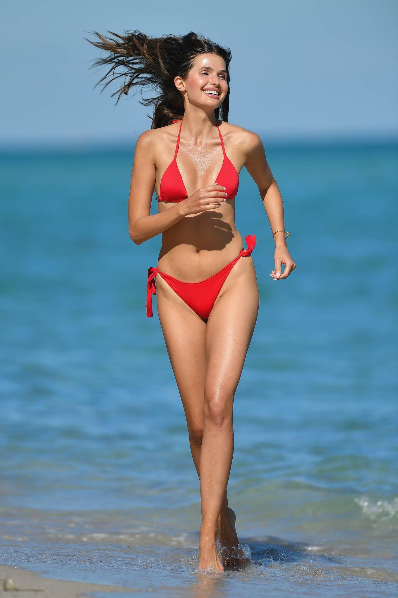 Jessica Markowski Hot Red Bikini