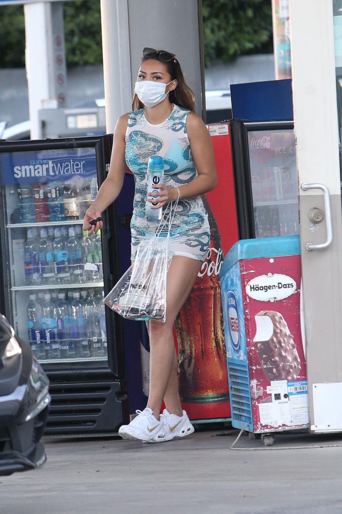 Montana Yao Sexy Upskirt