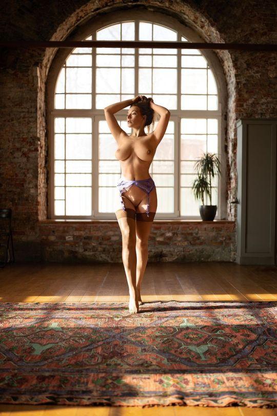 Olga Kobzar Beautiful Naked Body