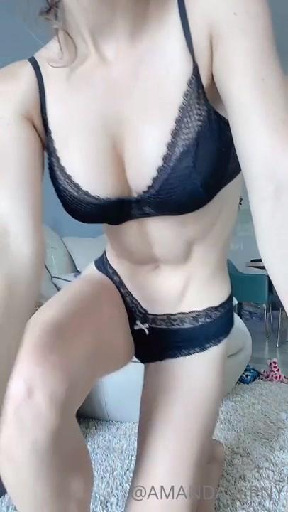 Amanda Cerny Sexy Underwear