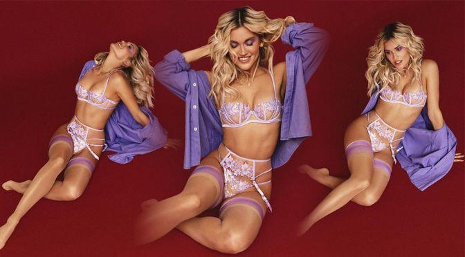 Ashley Roberts Beautiful In Bra And Panties