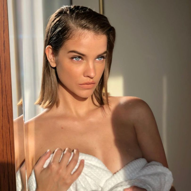 Barbara Palvin Pretty In Towel