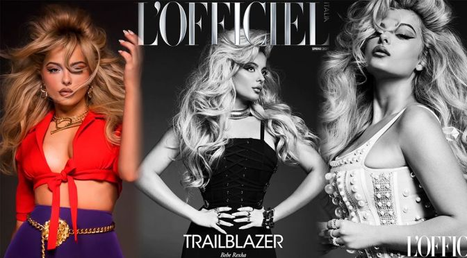 Bebe Rexha – Gorgeous in Photoshoot for L'Officiel Magazine Italy (Spring 2021)