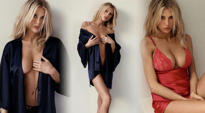 Charlotte McKinney – Wonderfull Big Boobs in a Sexy La Senza Lingerie Photoshoot