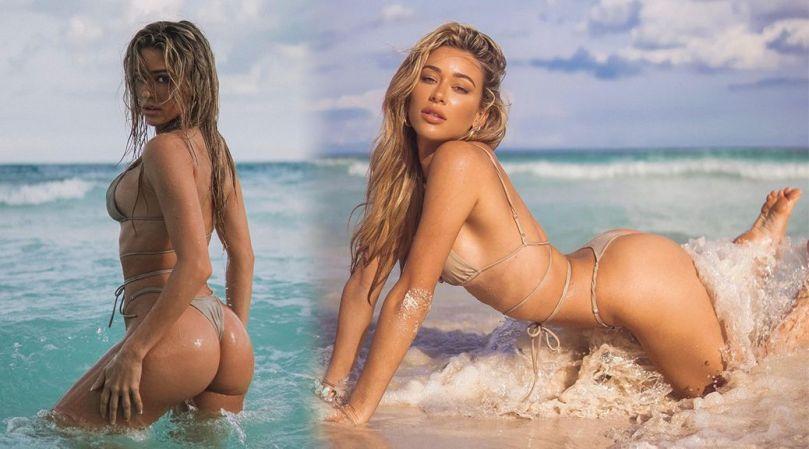 Cindy Prado Fantastic Ass In Thong Bikini