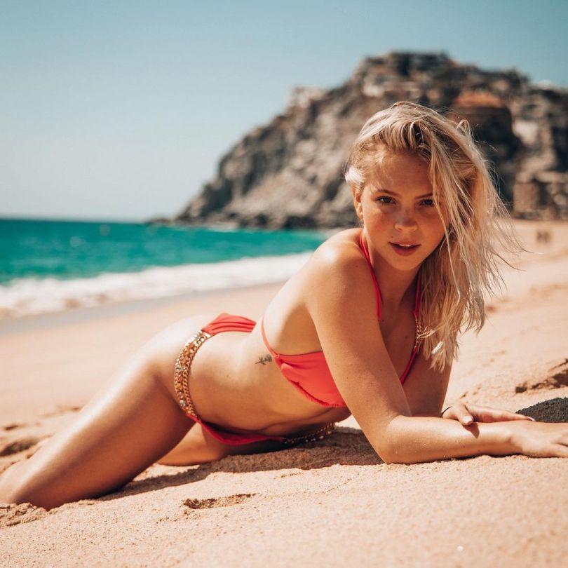Jordyn Jones Beautiful In Bikini