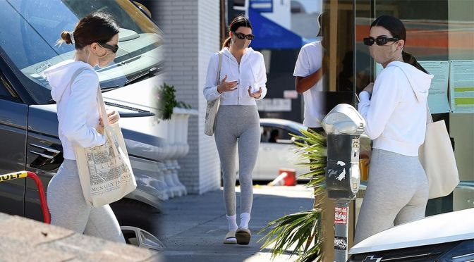 Kendall Jenner – Sexy Ass Out in West Hollywood