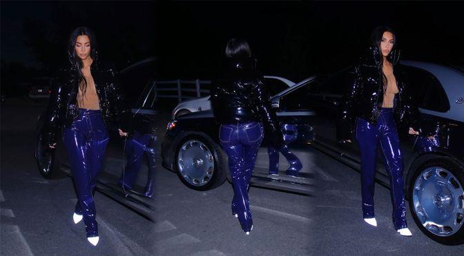 Kim Kardashian Big Ass And Braless Breasts
