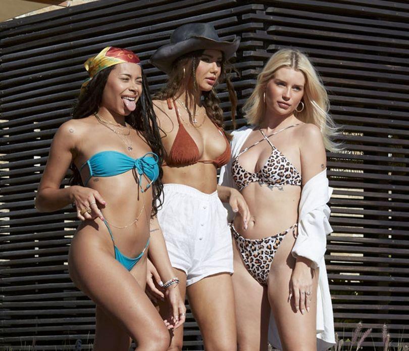 Lottie Moss Sexy In Bikini