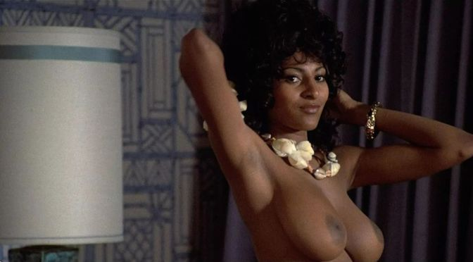 Pam Grier Beautiful Topless Tits