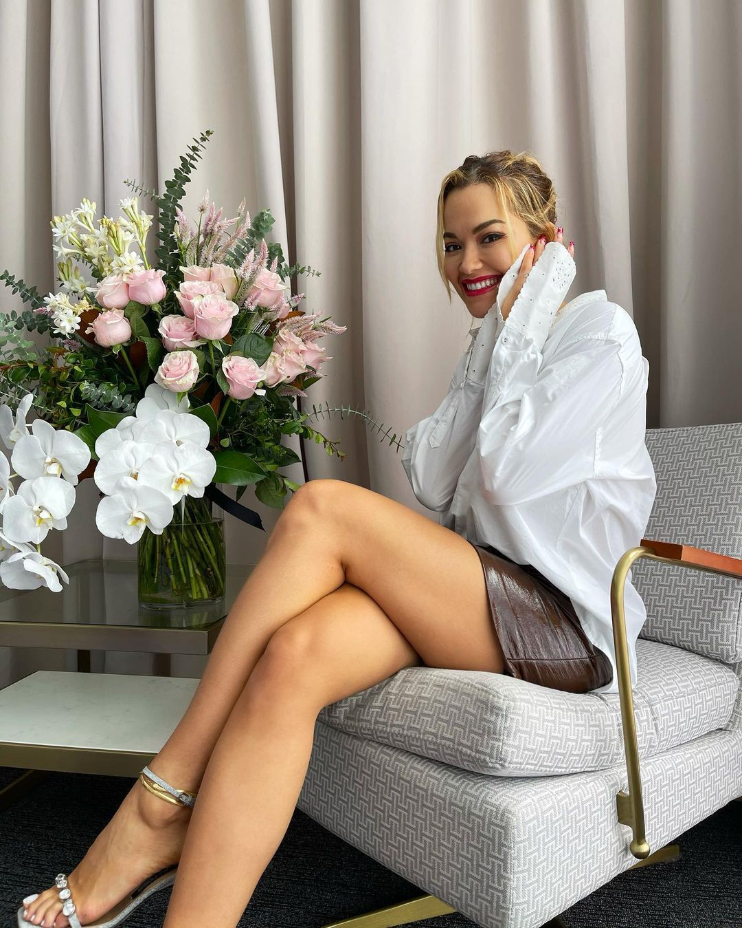 Rita Ora Fantastic Legs