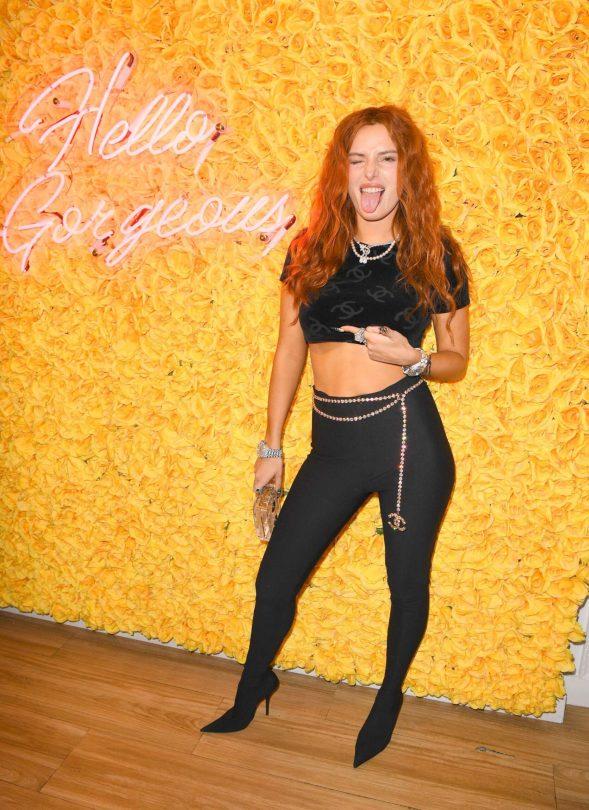Bella Thorne Braless