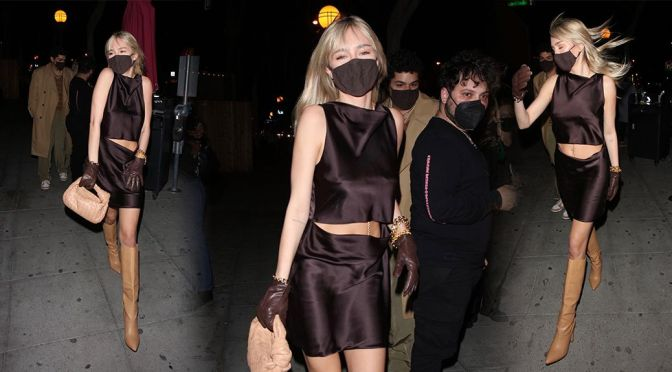 Delilah Belle Hamlin – Sexy Outfit at Delilah in West Hollywood