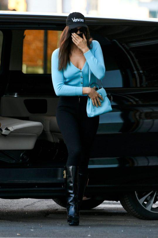 Irina Shayk Sexy Cleavage