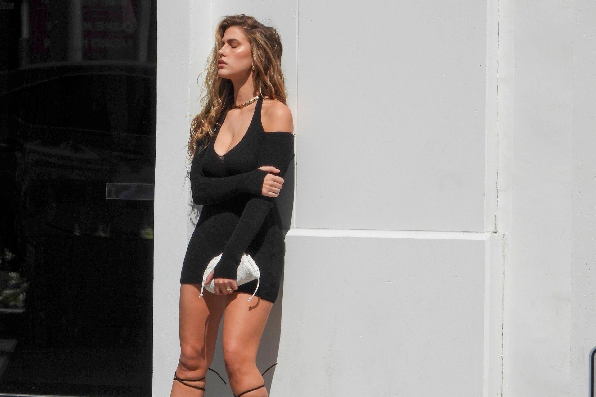 Kara Del Toro Sexy Short Dress