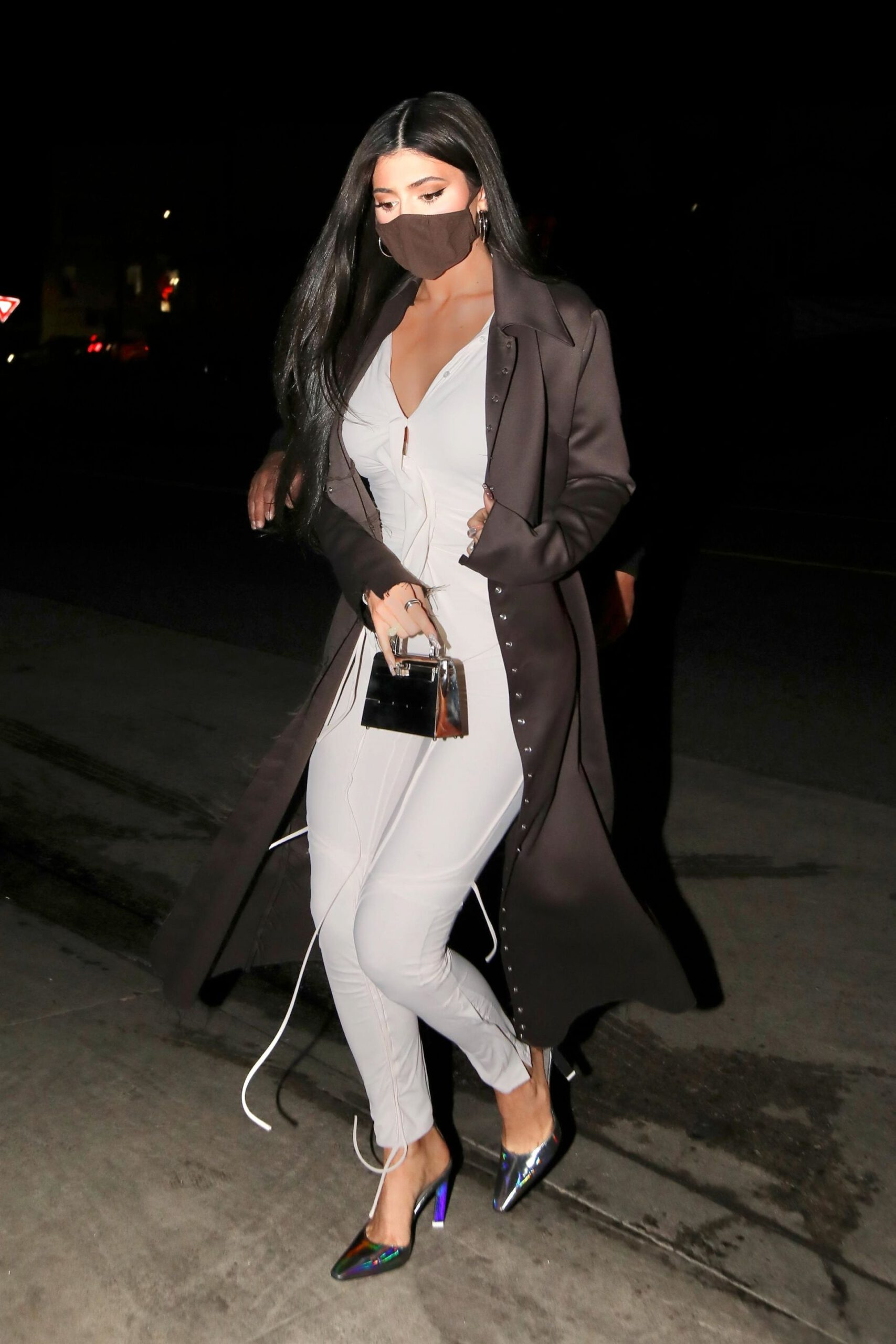 Kylie Jenner Sexy Tight Pants