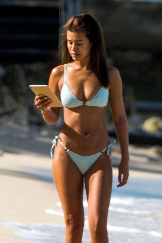 Montana Brown Sexy In Bikini