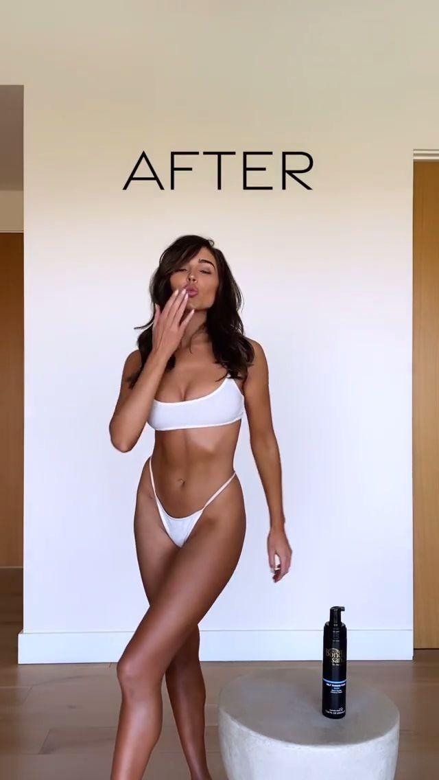 Olivia Culpo Sexy Little Bikini