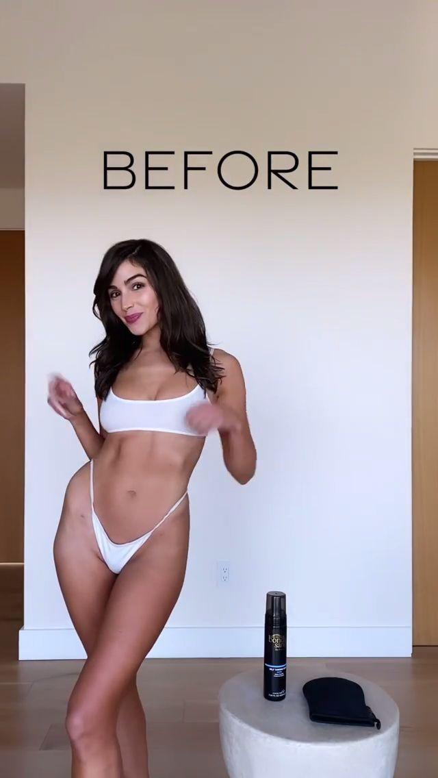 Olivia Culpo Tiny Bikini