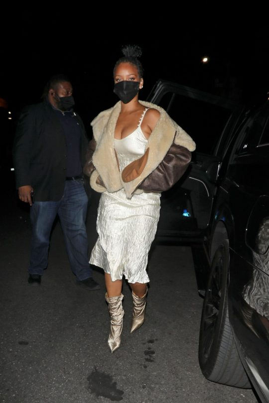 Rihanna Sexy Dress