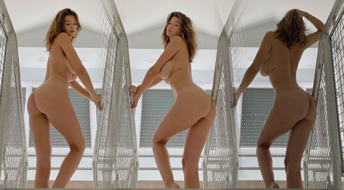 Ashley Tervort – Beautiful Big Ass in a Naked Photoshoot (NSFW)