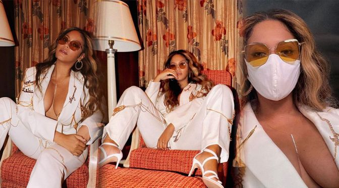 Beyonce – Stunning Big Boobs in Big Cleavage