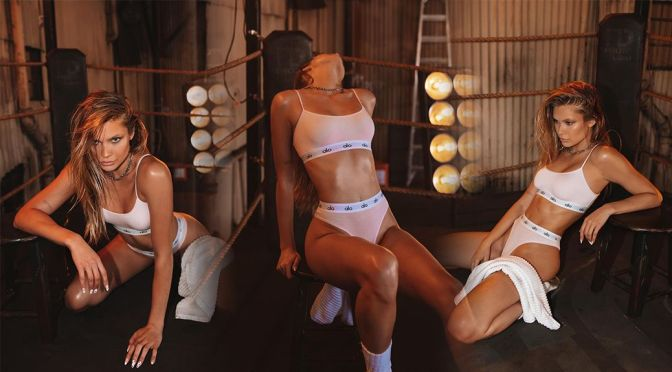 Josie Canseco – Beautiful Toned Body in Bra and Panties