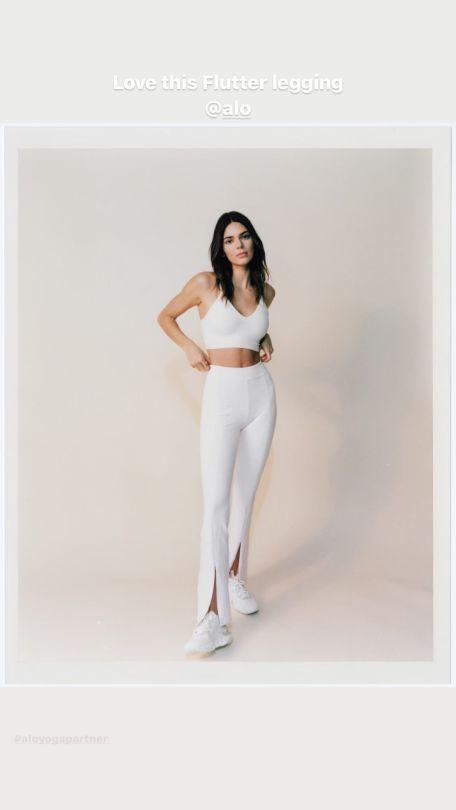 Kendall Jenner In Leggings