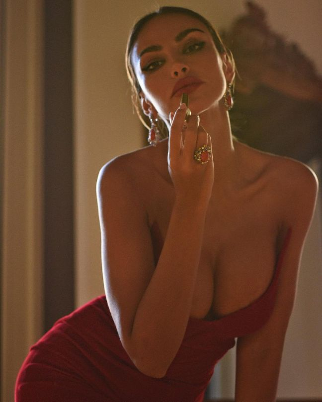 Madalina Diana Ghenea Stunning Boobs