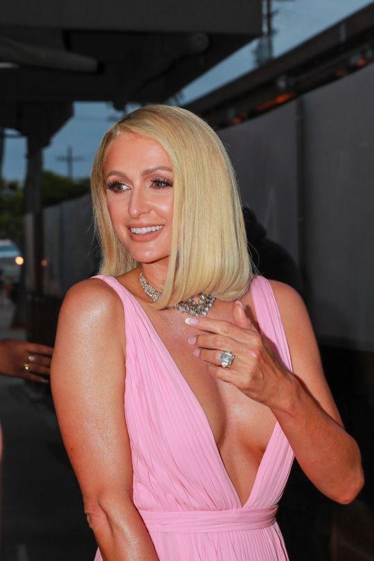 Paris Hilton Braless Boobs