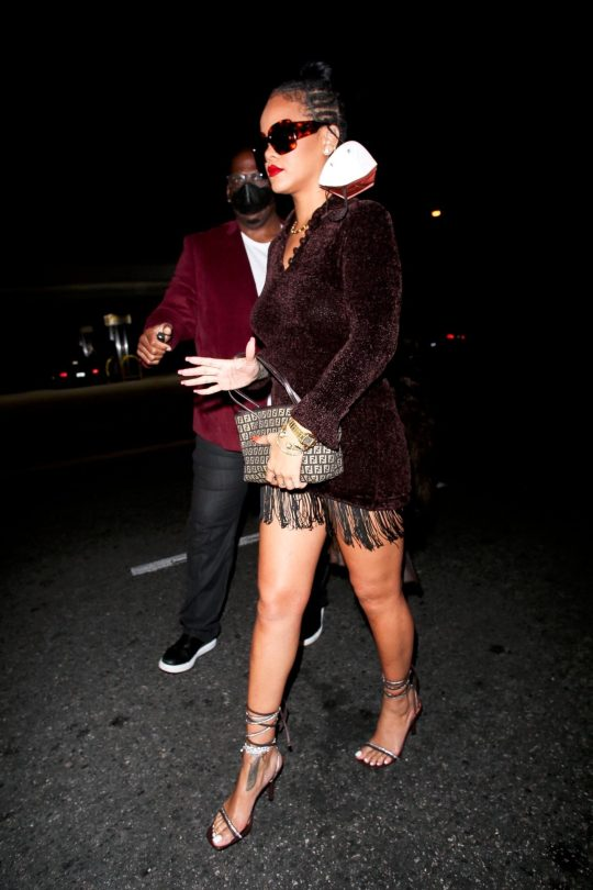 Rihanna Beautiful Legs