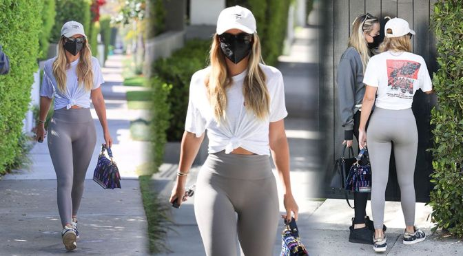 Sofia Richie – Stunning Body in a Sexy Leggings Out in Los Angeles