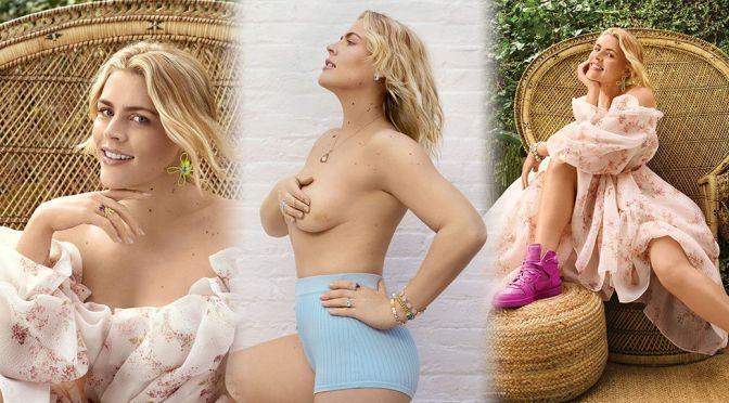 Busy Philipps – Sexy Topless Photoshoot for Health Magazine (June 2021)