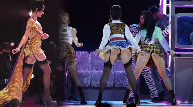 Dua Lipa – Sexy Legs and Ass in Thong Panties at BRIT Awards 2021 in London