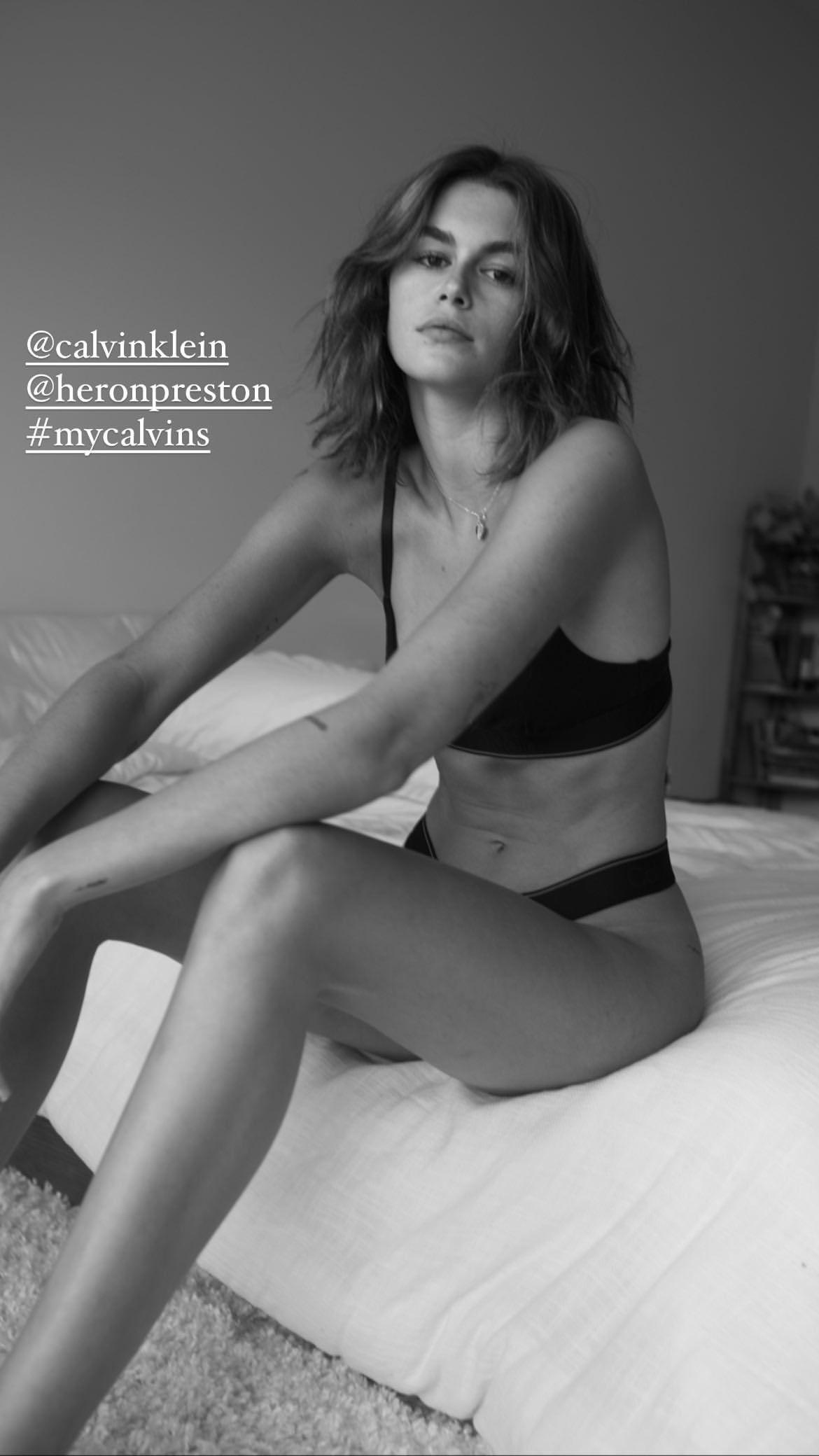 Kaia Gerber Sexy Pics