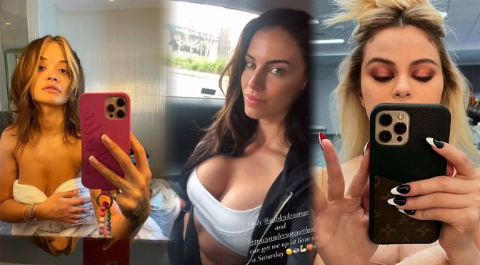 Jessica Lowndes' Spectacular Boobs and Other Celebrities in a Weekly Instagram/Twitter Roundup