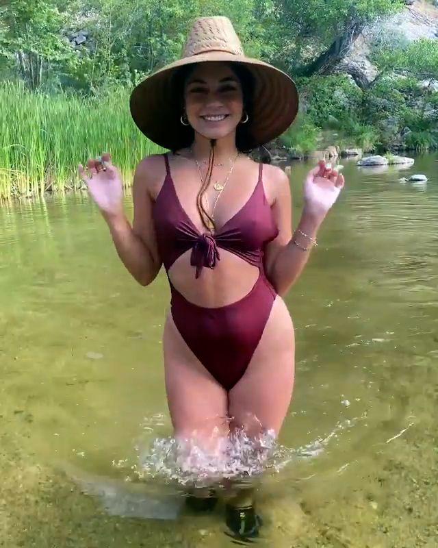 Vanessa Hudgens In Sexy Swimsuit