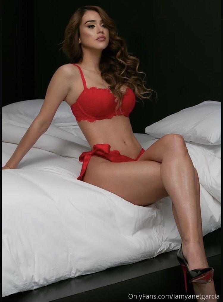 Yanet Garcia In Red Lingerie
