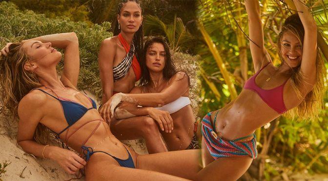 Irina Shayk & Candice Swanepoel – Gorgeous BOdies in BIkinis for Tropic of C x Revolve 2021 Campaign