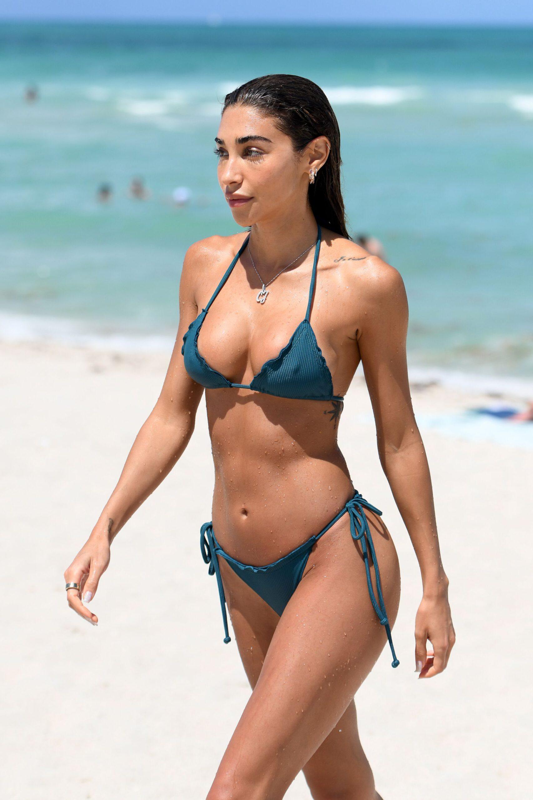 Chantell Jeffries Beautiful In Bikini