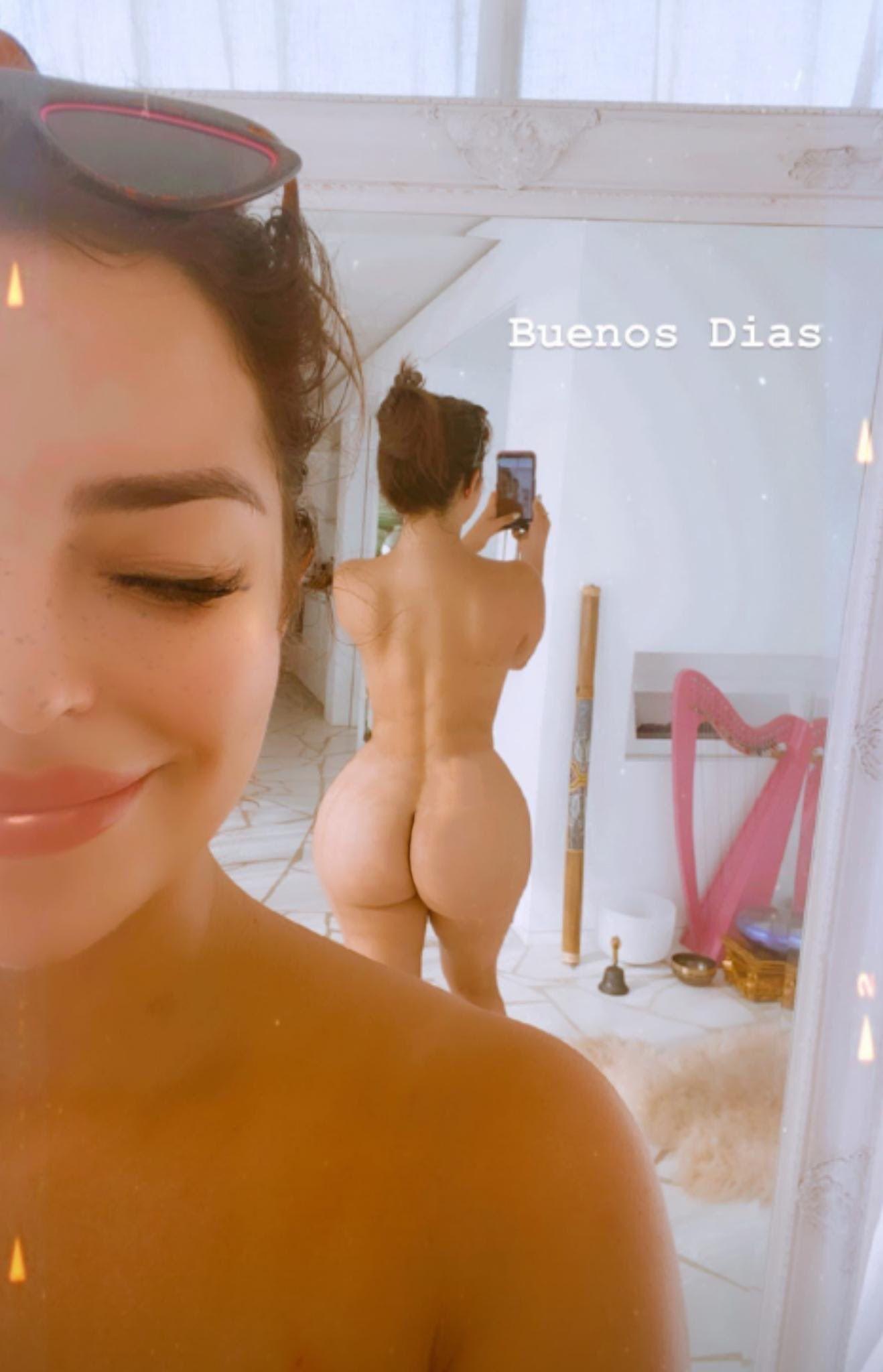Demi Rose Mawby Naked Ass