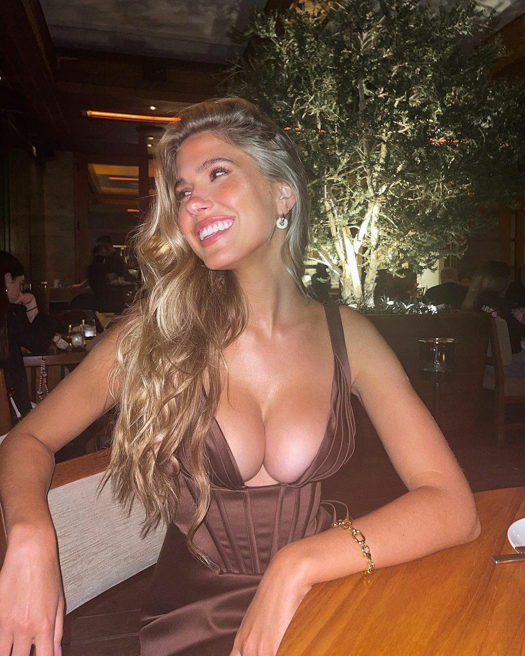 Kara Del Tor Sexy Boobs