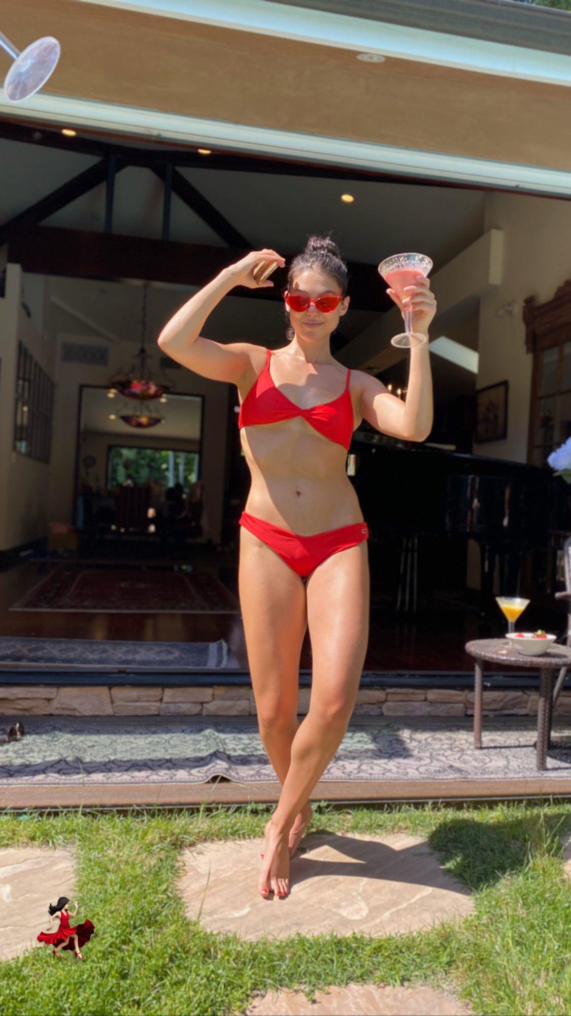 Kira Kosarin In Tiny Bikini